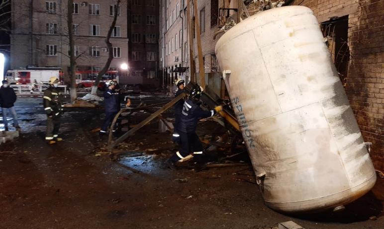 В Челябинске продолжаются восстановительные работы в ГКБ № 2 и ремонт в доме, рядом с которым взо