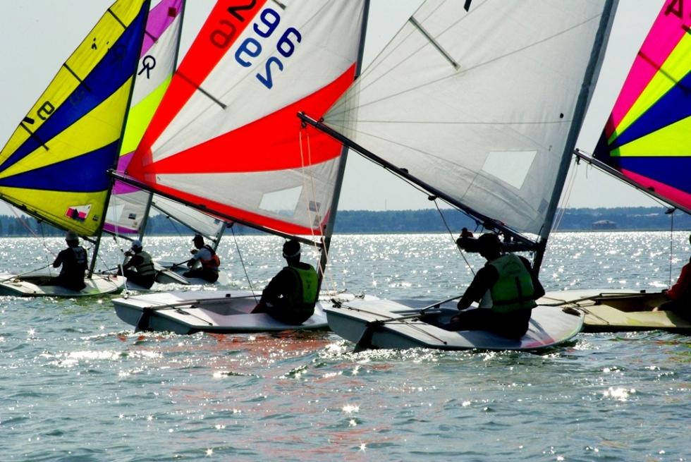 А в День России, 12-го июня, яхтсмены яхт-клуба «Чайка» (официальный спонсор Группа компаний «Тре