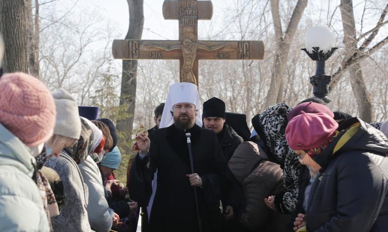 В Челябинске помянули монахинь и защитников Одигитриевского монастыря, закрытого в марте 1921-го