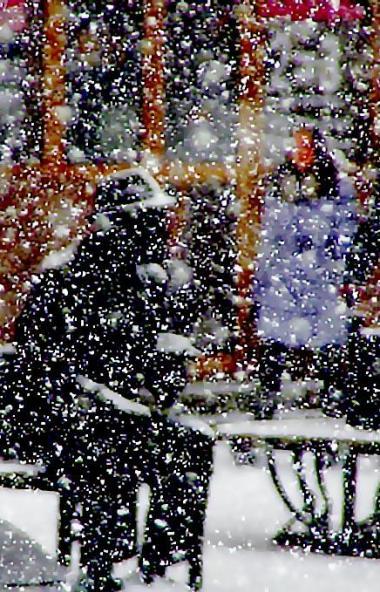 В пятницу, 6 декабря, циклон принесет в Челябинскую области потепление, снегопады и усиление ветр