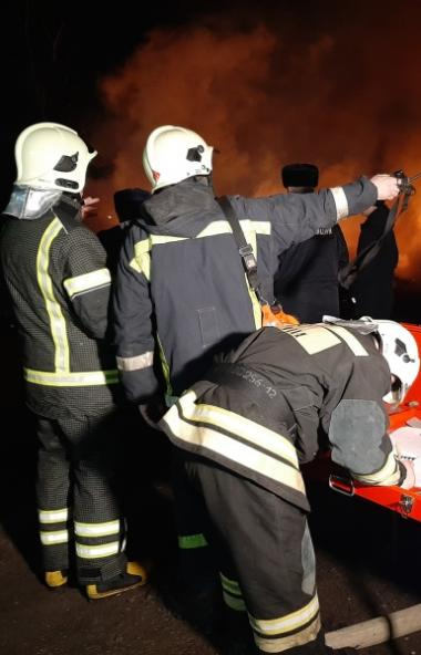 Сегодня ночью сотрудники Главного управления МЧС России по Челябинской области справились с пожар