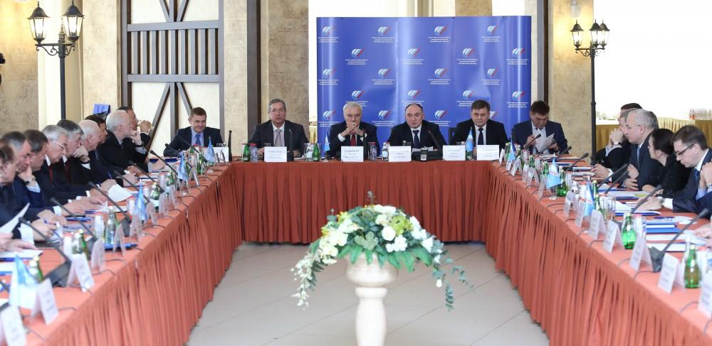 Как сообщила агентству «Урал-пресс-информ» пресс-секретарь СПП Ольга Смирнова, в заседании под пр
