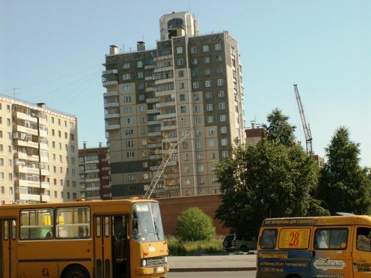 Всего в Челябинске в ведении застройщиков находится 296 участков на территории в 563 гектара. Стр