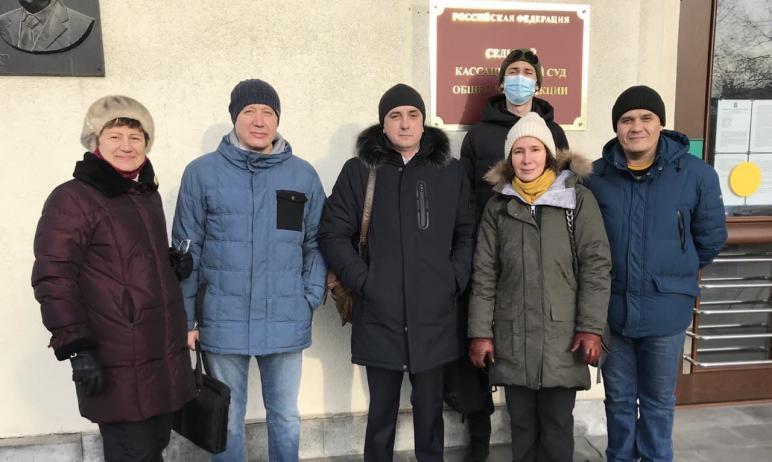 Сегодня, 16 декабря, в Челябинске состоялось третье заседание Седьмого кассационного суда по делу