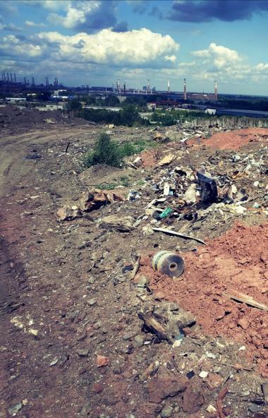 Работы по формированию тела свалки городской свалки Челябинска подходят к завершению. На объект з