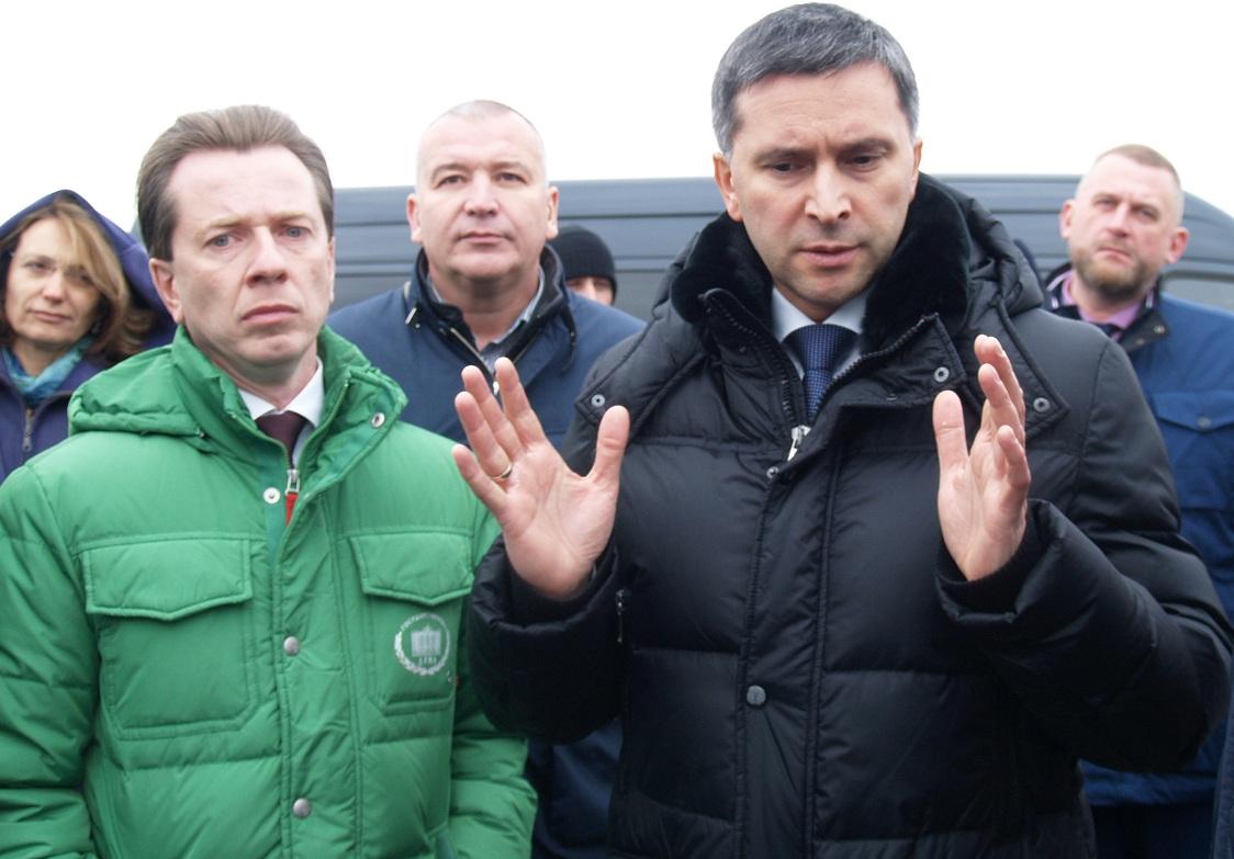 В пятницу, 16 ноября, во время посещения закрытой городской свалки министр природных ресурсов