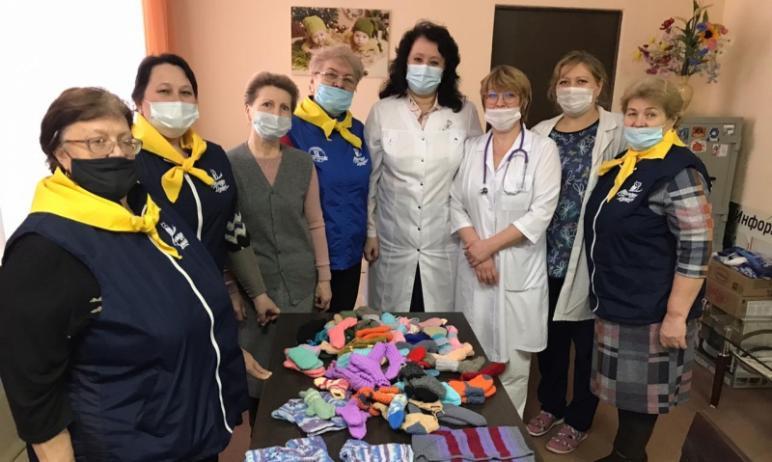 «Серебряные волонтеры» Магнитогорска (Челябинская область) подключились к акции ОНФ «Бабушкин клу