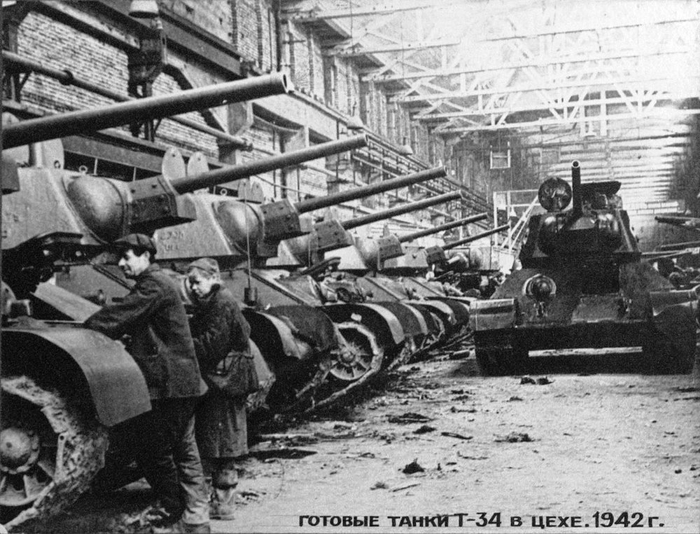 Для запуска производства Т-34 в Челябинске потребовалось всего 38 суток Южный Урал не без