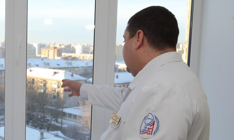 Первый заместитель министра здравоохранения Челябинской области Дмитрий Тарасов