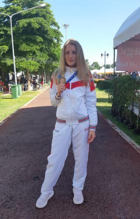 Челябинская спортсменка стала призером завершившегося в Бангкоке (Таиланд) чемпионата мира по тай