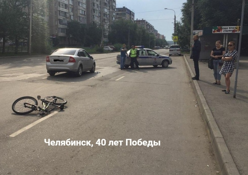 В Челябинске вчера, 14 августа, в полвосьмого утра на улице Верхнеуральской 46-летняя автоледи на