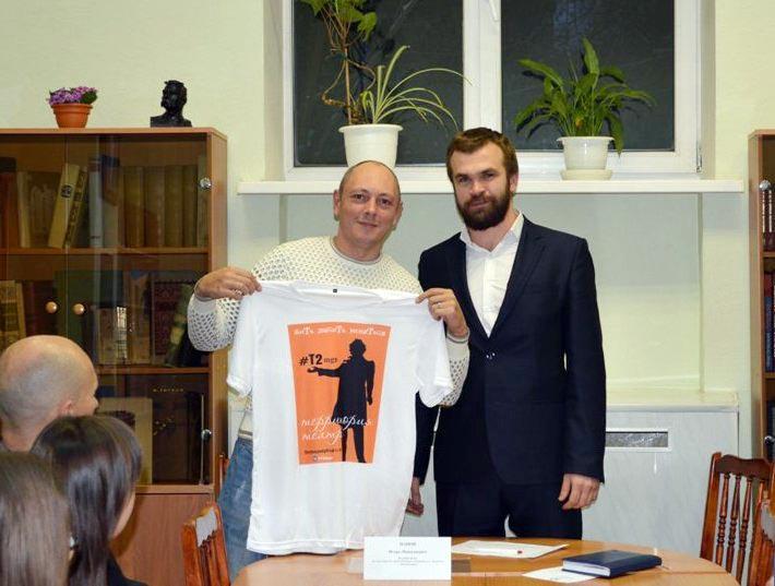 На встречу с активистами Общественной молодежной палаты при городском Собрании депутатов