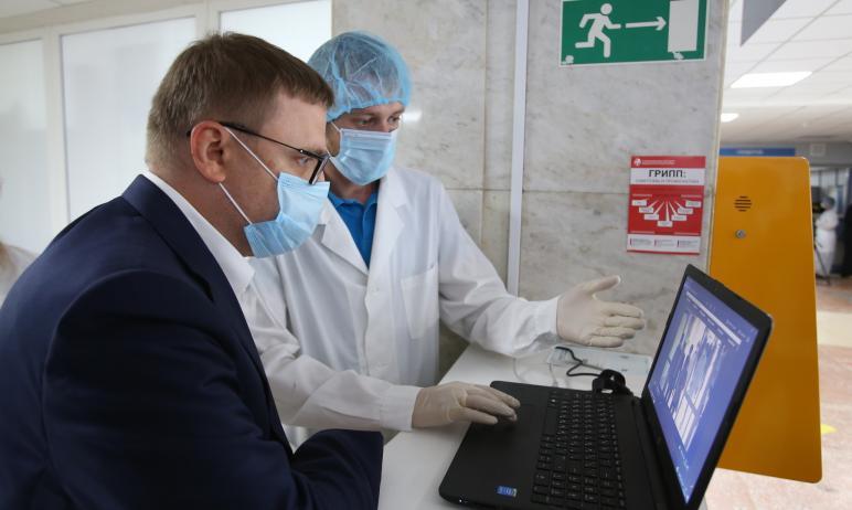 Челябинская область не запрашивала помощи у министерства обороны России для лечения пациентов с к