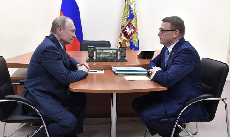 Челябинская область готовится к визиту в регион президента Российской Федерации Владимира