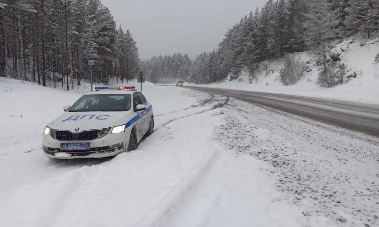 В связи с резким понижением температуры воздуха на автодороги Челябинской области выведены дополн