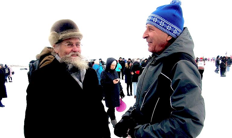 Легенда советского биатлона Александр Тихонов побывал на своей малой родине - в