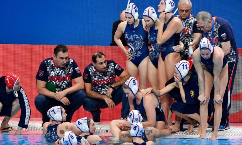 На Олимпийских играх в Токио ватерпольная команда России, в составе которой три представительницы
