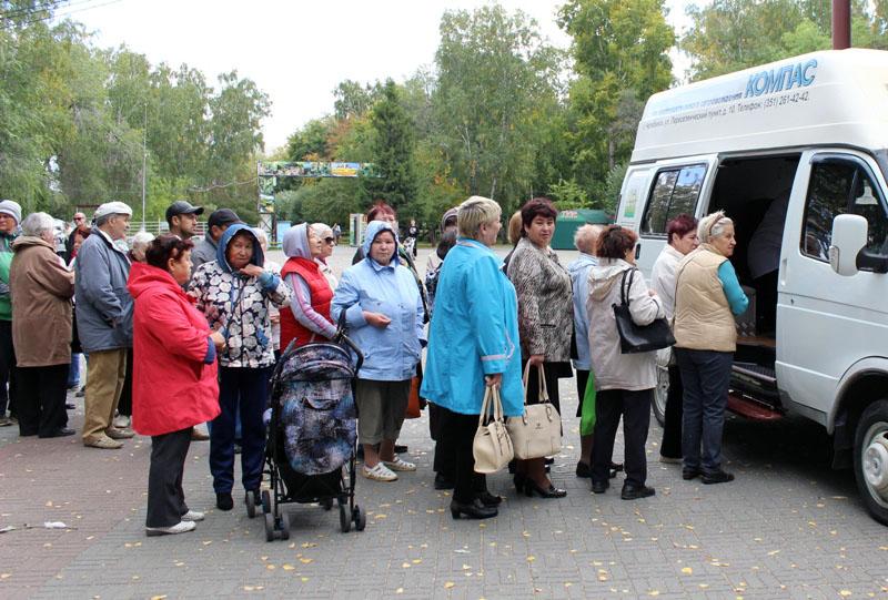 В минувшую субботу, 15 сентября, в челябинском парке «Сад Победы» состоялась акция, посвященная В