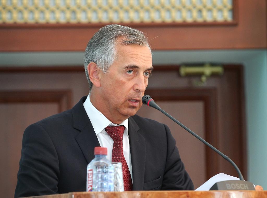 « На первое сентября мы прогнозируем готовность не ниже 95 %», - сообщил министр строительства, и