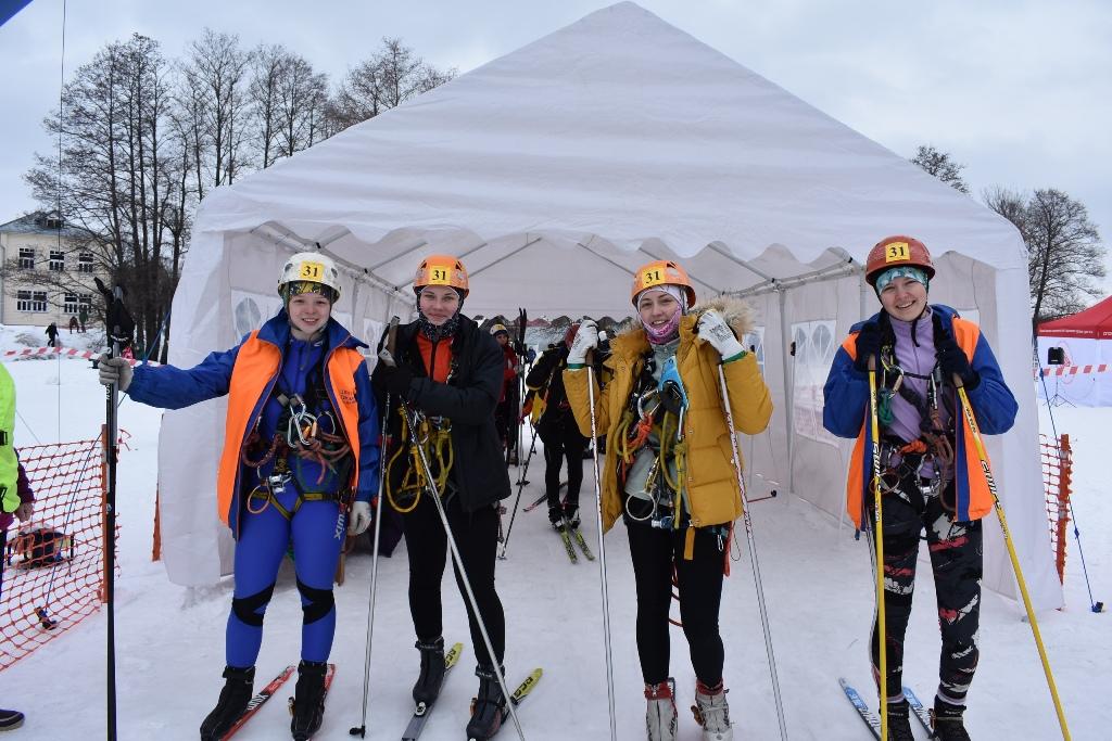 Сборная Челябинской области приняла участие в первенстве России по спортивному туризму на лыжных