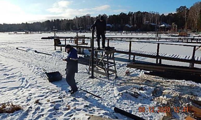 В прибрежной полосе озера Увильды (Челябинская область), на территории СНТ «Чайка», приостановлен