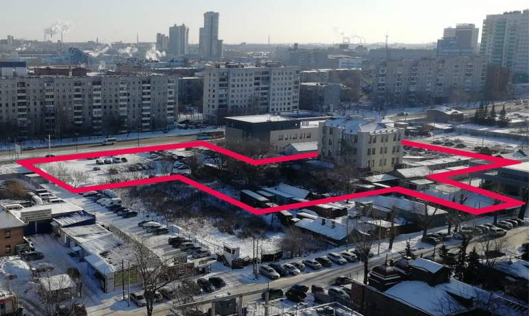В Челябинске в культурно-историческом центре города планируют построить 32-этажный дом по проекту