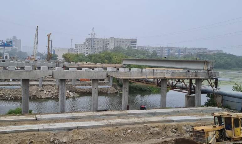 В Челябинске сегодня, девятого августа, - сотый день с начала реконструкции Ленинградского моста.