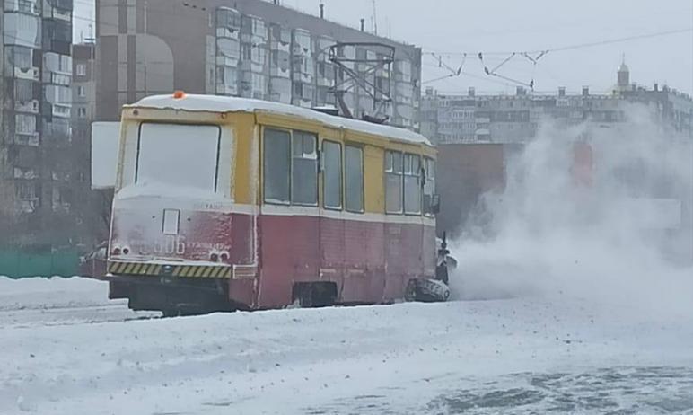 Челябинская мэрия сообщила о пробном выходе на линию двух первых за сегодняшний день, 24 февраля,