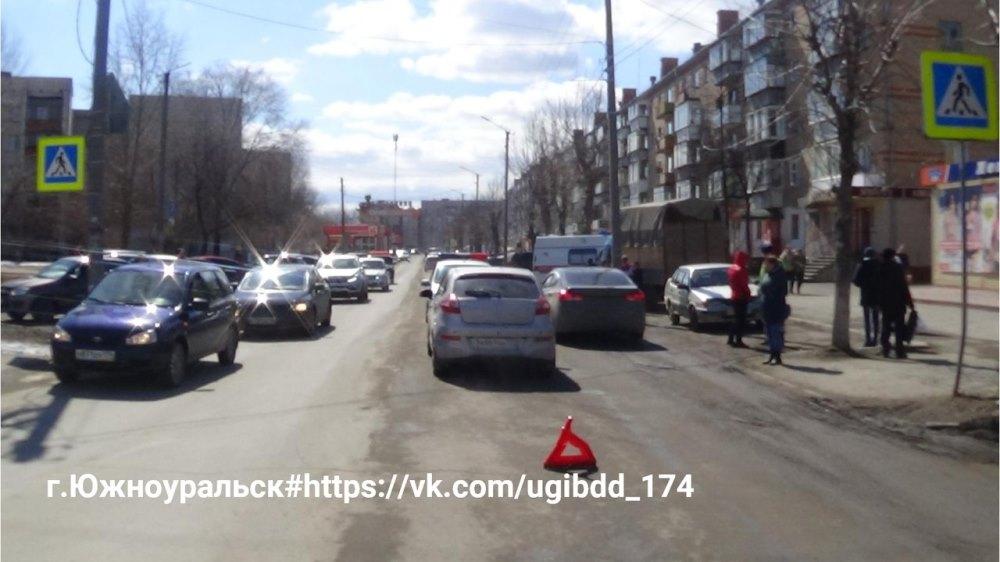В Южноуральске (Челябинская область) в субботний полдень, 14-го апреля, шестилетний мальчик, двиг
