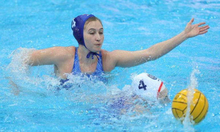 В Волгограде проходит заключительный тур чемпионата России по водному поло, в котором разыгрывают
