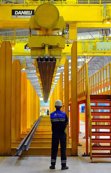 Челябинский металлургический комбинат (ПАО «ЧМК», входит в Группу «Мечел») в ноябре 2019 го
