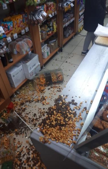 Инцидент произошел ночью, седьмого ноября, в магазине разливного пива, расположенного на северо-з