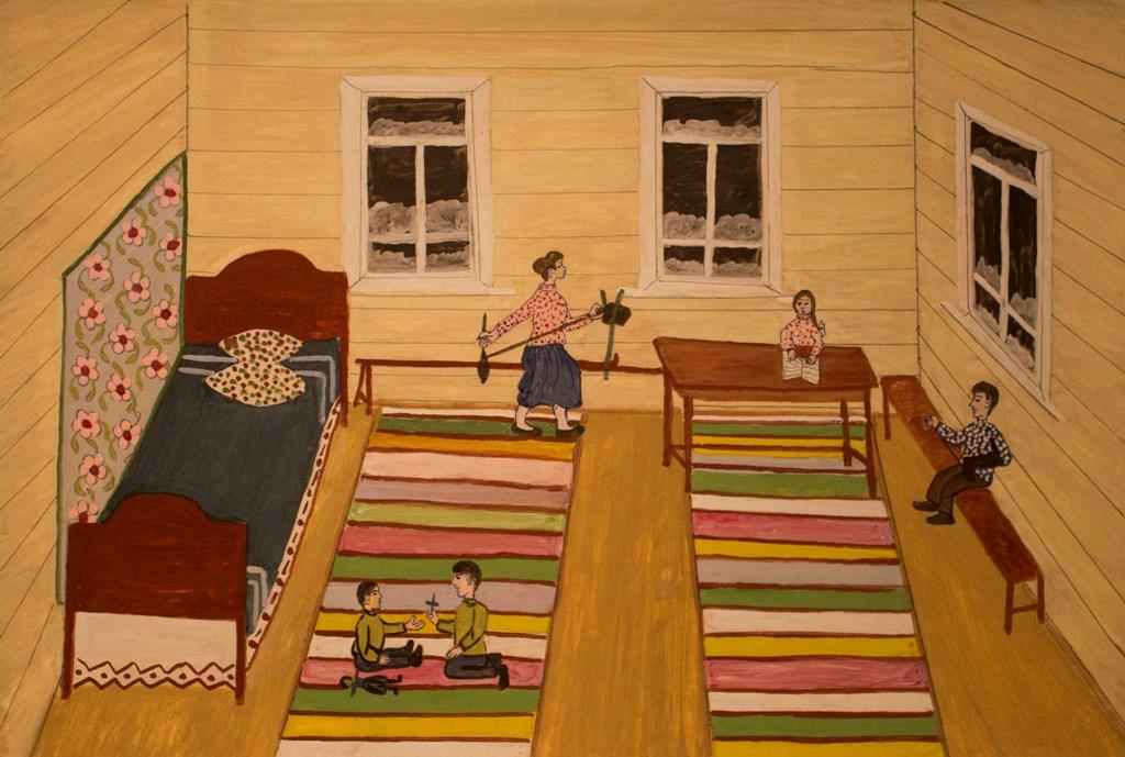 В Челябинске пройдет выставка наивного искусства «Когда простым и нежным взором…», на которой буд