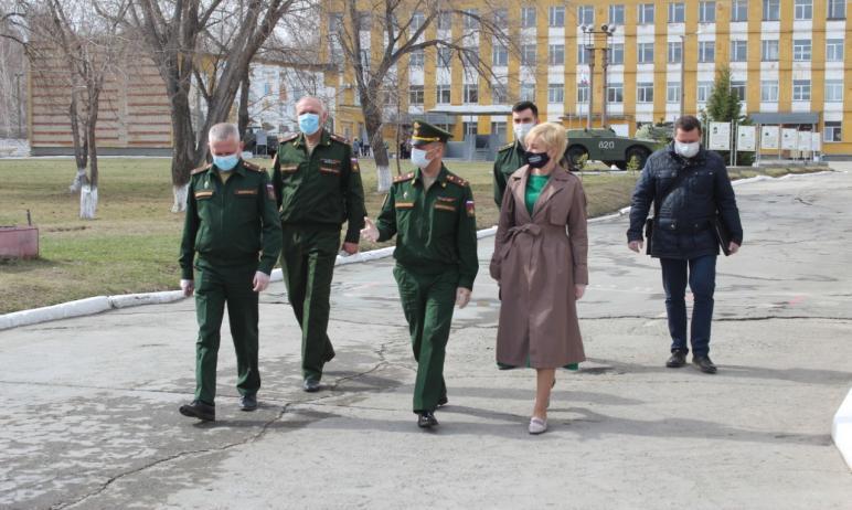 Работа областного сборного пункта «Челябинск-Южный» в весеннюю призывную кампанию 2021-го года ор