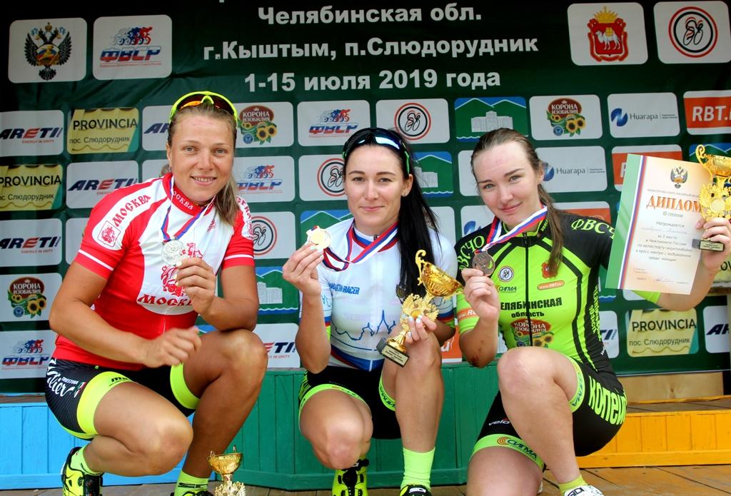 В поселке Слюдорудник Челябинской области завершился чемпионат страны по велоспорту-маунтинбайку.