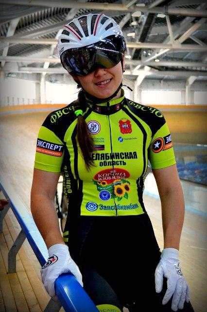 Валентина Моловстова из Копейска – обладатель Кубка России по велоспорту В Майкопе заверш