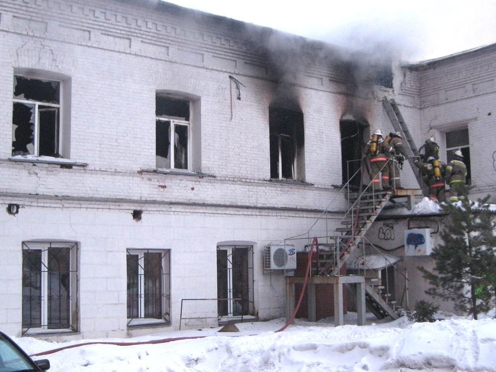 К месту вызова направлены силы подразделений пожарной охраны Челябинска на 10 единицах основной и