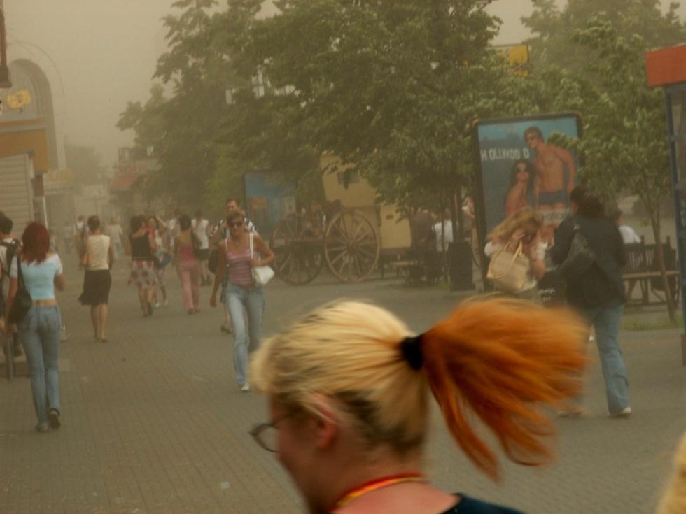 В Челябинской области объявлено штормовое предупреждение в связи с усилением ветра, прогнозируемы