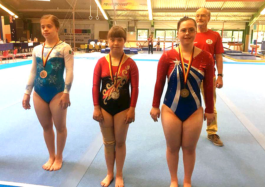Необыкновенная гимнастка из Челябинска завоевала медали всех достоинств на чемпионате мира в Герм