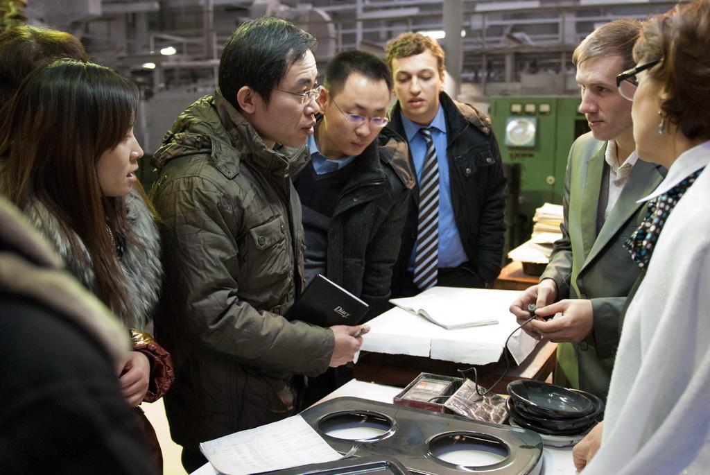 В 2011 году, во время официального визита делегации Челябинской области во главе с губернатором М