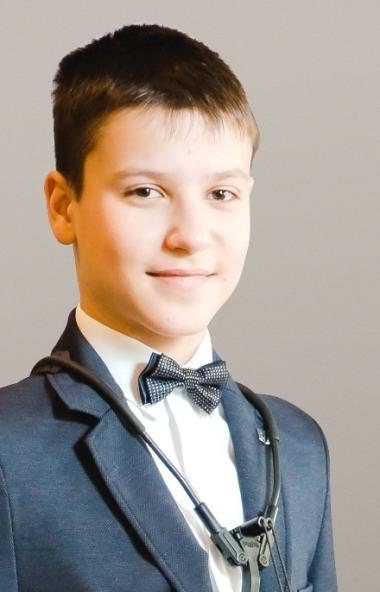 Воспитанник Южно-Уральского института искусств Владимир Пецкус, единственный из челябинской делег