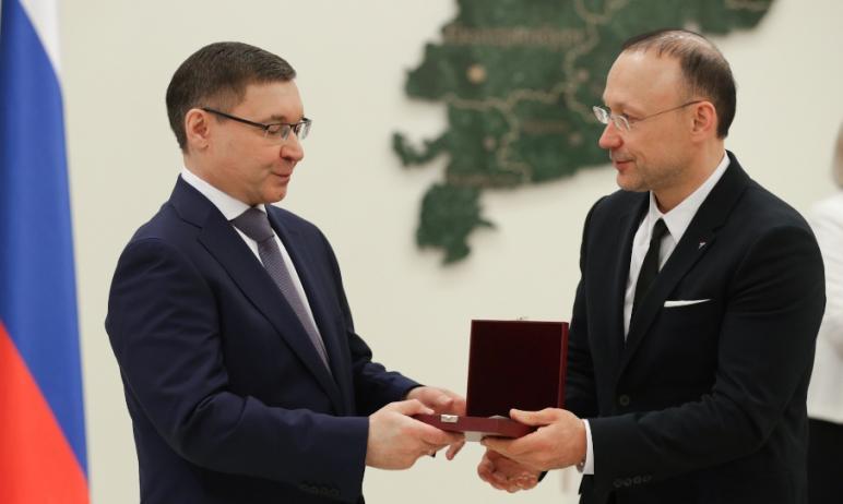 Председатель Совета директоров Русской медной компании (АО «РМК») Игорь Алтушкин награжден Ордено