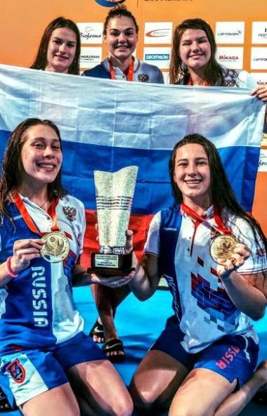 В португальском городе Фуншал завершилось первенство мира по водному поло среди юниорок до 21 год
