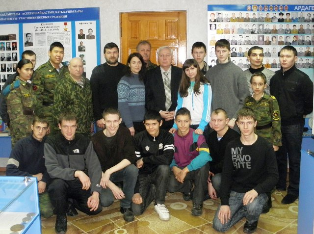 Как сообщил агентству «Урал-пресс-информ» руководитель ВПО «Воин» Алексей Вепринцев, на юбилей ор