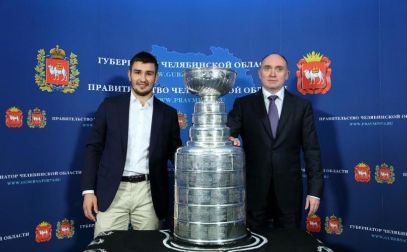 Об итогах встречи главы региона и хоккеиста сообщает пресс-служба «Трактора» со ссылкой на Олега