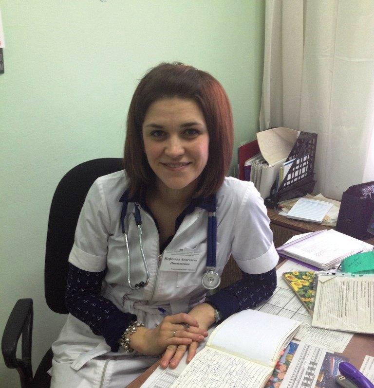 Врач городской поликлиники №5 Анастасия Нефедова пришла осмотреть 22-летнюю пациентку в одну из к