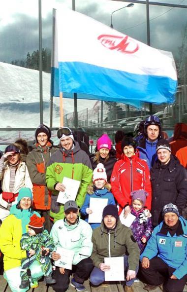 В Миассе (Челябинская область) состоялись XI открытые любительские соревнования по горнолыжному с