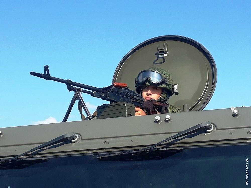 В среду, 29 августа, на танковом полигоне под Чебаркулем (Челябинская область) командующий войска