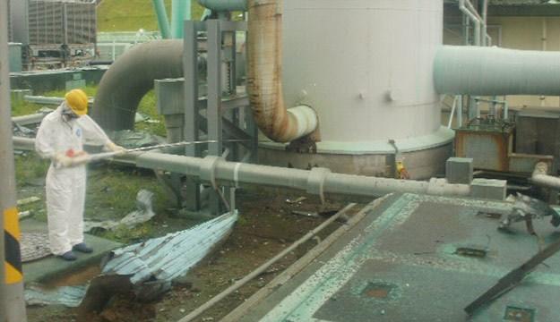 Максимально высокий уровень радиации был зарегистрирован в понедельник днем на территории объекта