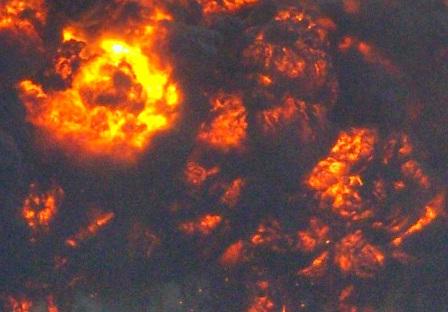 В дежурной части ОМВД по Карабашу информацию о взрыве подтвердили. ЧП произошло 23 октября. От вз